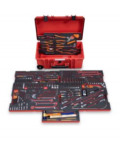 RBI8000T® Helibox Trolley Case with Tools – imperial/metric Kit, includes 240 Tools