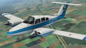 Beechcraft 76 Duchess Ground Power Equipment