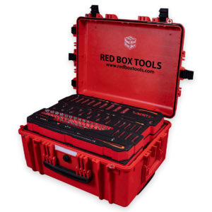 Tool Cases with Spare Foam
