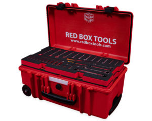 RBI9650T Avionics Toolkit, includes 266 tools. Imperial