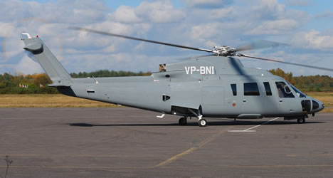 Sikorsky S-76 Ground Power Equipment